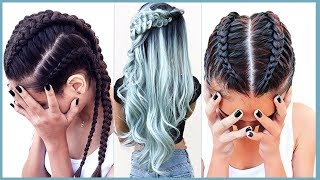 ✦ New! Amazing Braids Hairstyles 2017 | Easy Braids Tutorial Compilation