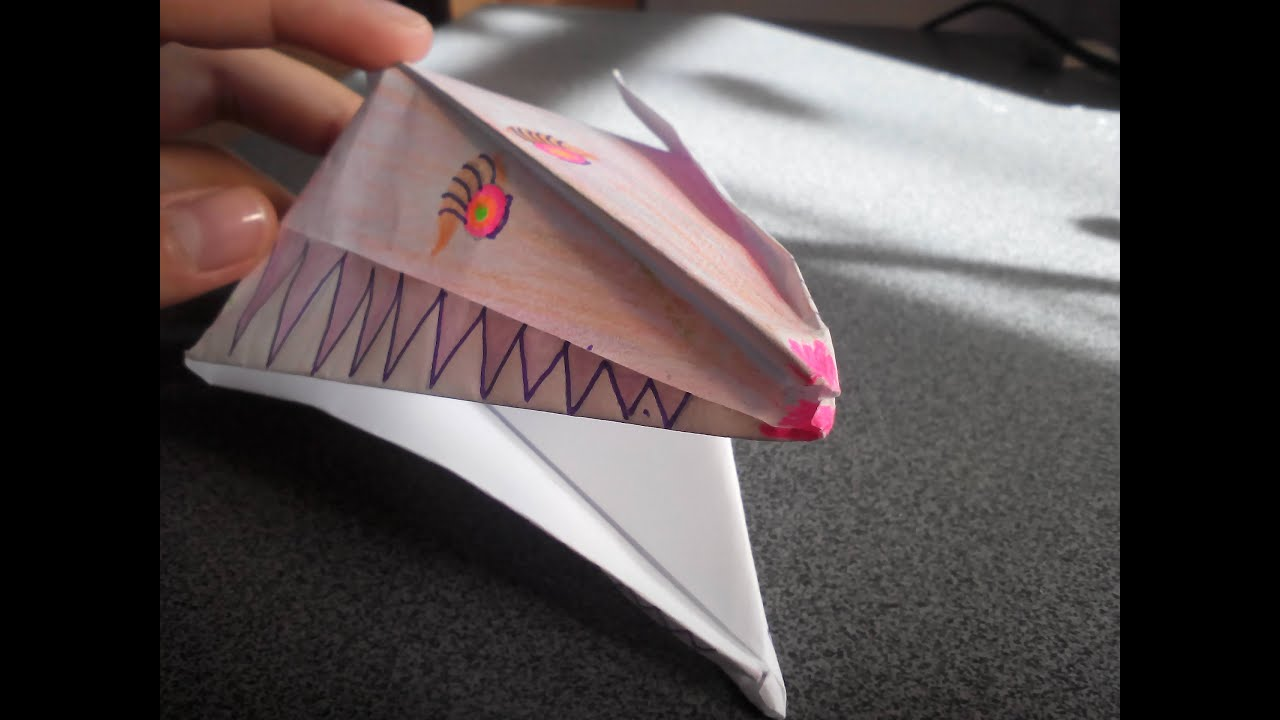 Зубы из бумаги своими руками