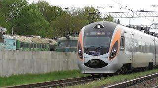 Західна Україна дороги і поїзди Hyundai Rotem дпкр2 HRCS2