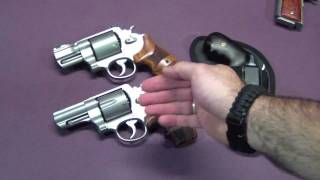 Easily Carried & Concealed .44MAG Revolvers