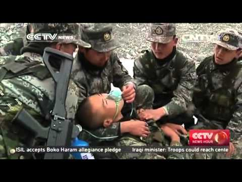 Agenda in Action: Chinese soldiers vow to keep terrorists out