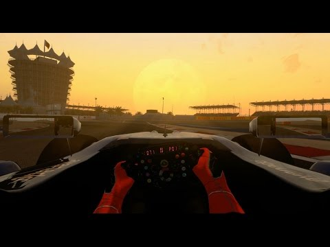 F1 2014 Modded Career Mode Part 3: Bahrain Day/Night Race