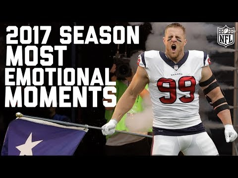 The NFL's Most Emotional Moments from the 2017 Regular Season | NFL Highlights