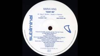Marva King - Want Me (Richard F. Mix) (2000) (HQ)