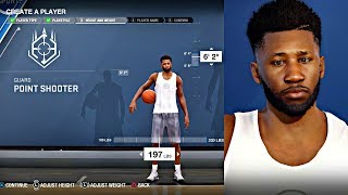 NBA LIVE PLAYER CREATION!!! BEST PLAYER BUILD TO SHOOT, DUNK, AND BREAK ANKLES IN NBA LIVE 18!!