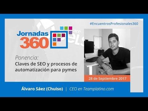 Claves de SEO y procesos de automatización para pymes – Álvaro Sáez (Chuiso)