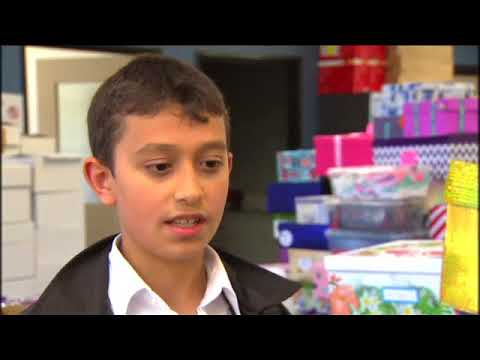 2018 SBS Shoebox4Syria Clip: Raw interview with SRC member Osama Akkad