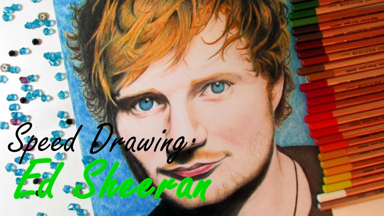 ed Sheeran Album Drawing Speed Drawing ed Sheeran