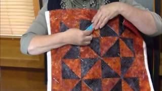 How to make a fun block with squares and folds - Quilting Tips & Techniques 166