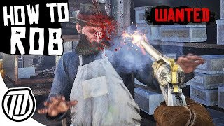 Red Dead Redemption 2 How to Rob Anything and NOT GET CAUGHT