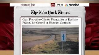 Cash Flowed To Clinton Foundation Amid Russian Uranium Deal