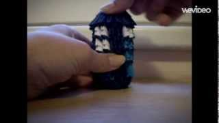 How To Make 3d Origami Tardis