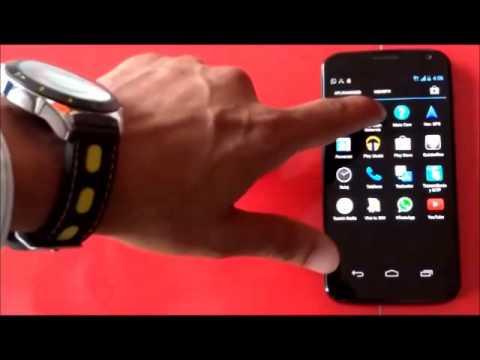 Motorola Moto X ¿Cómo migrar contactos a través de aplicaciones?