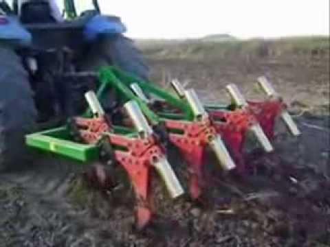 Turan tarım 7 li tam otomatik çizel pulluk