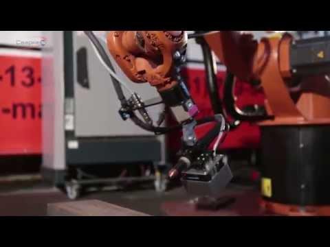 """Презентация НПП """"Сварка-74″. Промышленные роботы."""