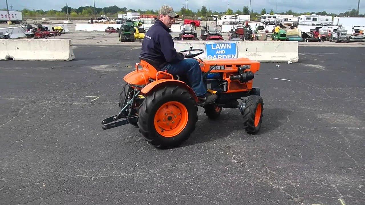 Kubota B7100 Tractor Youtube