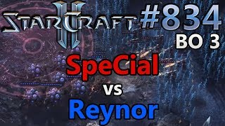 StarCraft 2 - Replay-Cast #834 - SpeCial (T) vs Reynor (Z) - WCS Montreal [German]