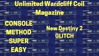 Destiny 2 Infinite Wardcliff Coil CONSOLE METHOD GLITCH SUPER EASY