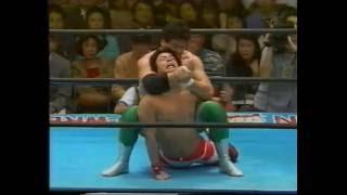 AJPW - Mitsuhara Misawa, Kenta Kobashi & Jun Akiyama vs Toshiaki Kawada, Akira Taue & Ogawa