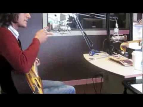 """Micah Kesselring does """"Shake What Your Momma Gave"""" live on KPTZ 91.9 fm Radio Port Townsend."""