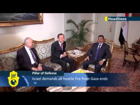 OPERATION PILLAR OF DEFENSE: Egypt announces ceasefire between Israel and Hamas