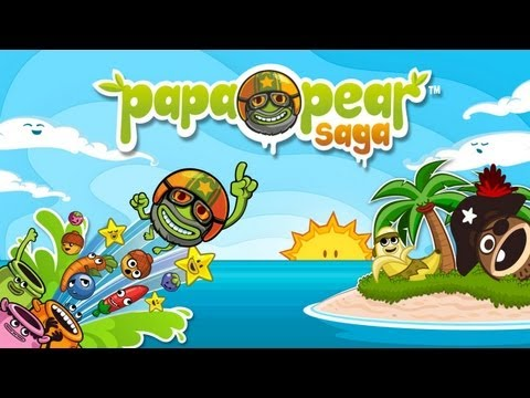 Papa Pear Saga - Universal - HD Gameplay Trailer