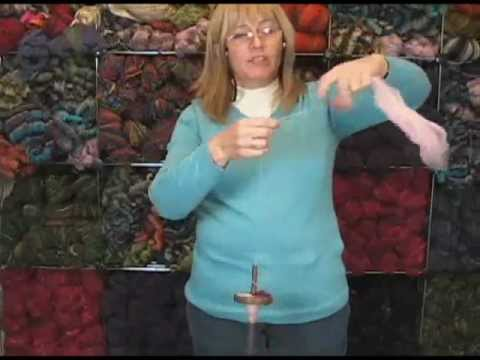 Wool Tree Mill Drop Spindle Review