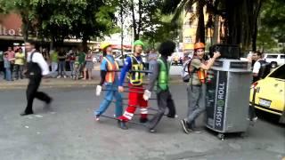 Nagyon profi utcai táncosok