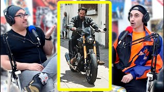 The Keanu Reeves Motorcycle Gang!