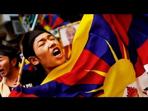 Chinese premier's visit: Protests by Tibetan groups in Delhi
