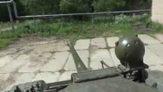 Т 55А (Почти Т-54) Обзор НАСТОЯЩЕГО ТАНКА от Вспышки