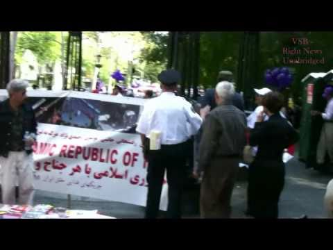 Marxists at Freedom for Iran-No Nukes for Ahjad Rally at UN (9-23-10)