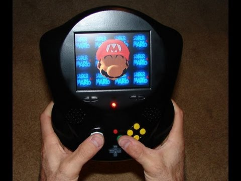 Darth64 .. My portable N64 Handheld