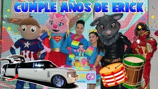 la fiesta de cumple años de erick - El Show Sorpresa / Kids play