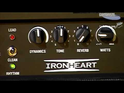 MusikMesse 2012 - Laney iron heart par Christophe Godin