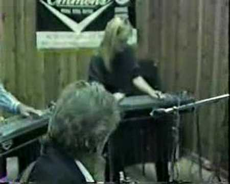 Playing Steel Guitar at Buddy Charleton's Christmas Jam
