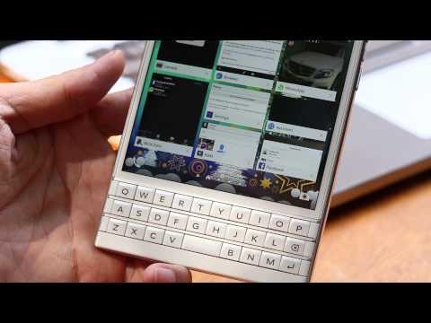 Tinhte.vn - Review BlackBerry Passport: Bàn phím
