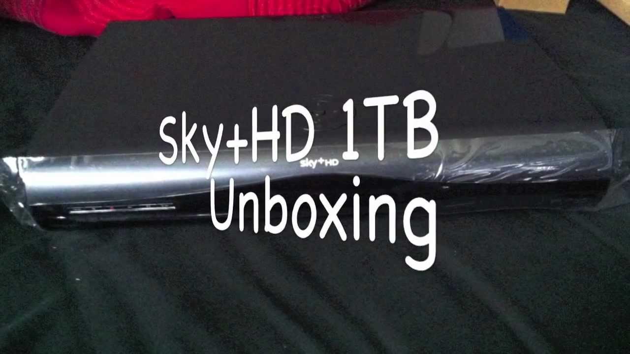 Sky hd 1tb Unboxing