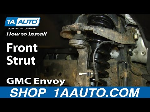 How To Install Replace Front Strut 2002-09 GMC Envoy Buick Raineer