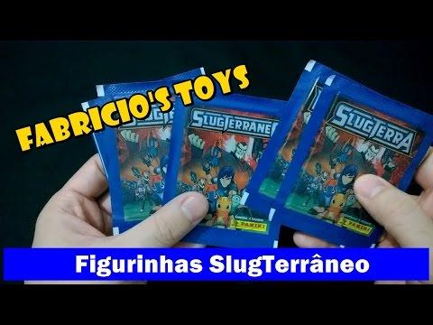 Figurinhas SlugTerrâneo - Disney XD - Panini - 2014 - Unboxing e Review