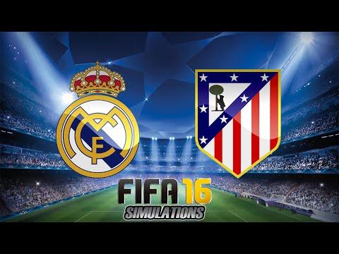 FIFA 16 - UEFA Champions League: Real Madrid X Atletico de Madrid (FINAL)