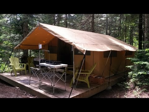 3 Days in a Boreal Tent