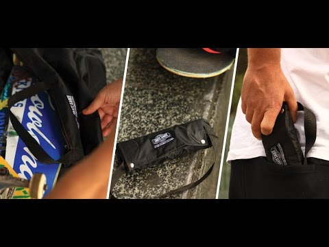 SKATE SAUCE Pack-able Weatherproof Skateboard Bag