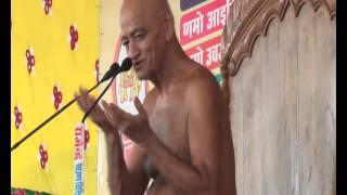 विद्यासागर महाराज के विदिशा में प्रवचन (12-7-2014) | Disc - 1, Part - 1