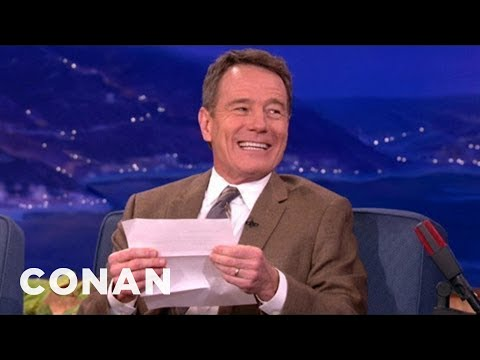 Bryan Cranston's Favorite Erotic Fan Letter video