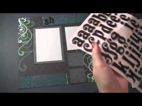 0 Black Friday Scrapbooking Tutorial and Shopping Adventures