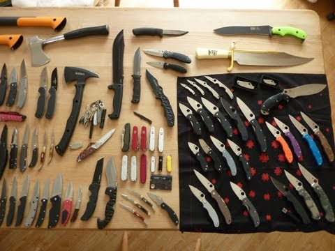 Sup3rSaiy3n's Knife Collection Image 1