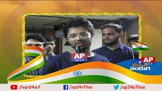 Actor Vijay Devarakonda and Singer Ravi Varma Independence Day Wishes | AP24x7