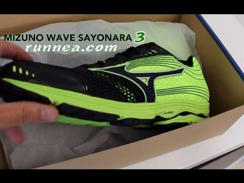 Mizuno Wave Sayonara 3, review en español