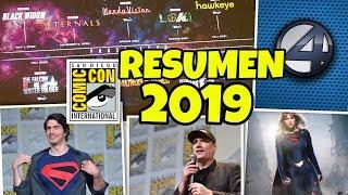 RESUMEN SDCC 2019: MARVEL FASE 4, Jane Foster es THOR, los 4F y BLADE, Superman KINGDOM COME